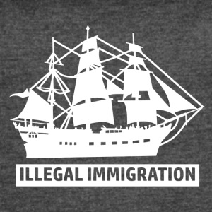 Illegal Immigrant designs - Women's Vintage Sport T-Shirt