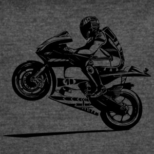 hot-rider-bikers-racing-sport-motorcycling - Women's Vintage Sport T-Shirt