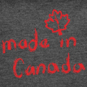 Made in Canada. - Women's Vintage Sport T-Shirt
