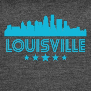 Retro Louisville Skyline - Women's Vintage Sport T-Shirt