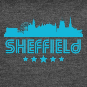 Retro Sheffield Skyline - Women's Vintage Sport T-Shirt