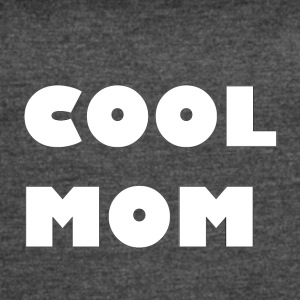 Cool Mom White Text - Women's Vintage Sport T-Shirt
