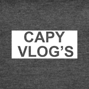 Capy Vlogs Official Merchendise - Women's Vintage Sport T-Shirt