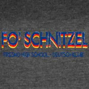 FO SCHNITZEL FRESNO HIGH SCHOOL DEUTSCH KLUB - Women's Vintage Sport T-Shirt