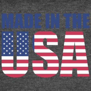 Made in USA Motive - Women's Vintage Sport T-Shirt