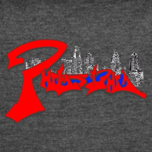 philly skyline mdone1 - Women's Vintage Sport T-Shirt