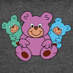 three little teddy bears - Women's Vintage Sport T-Shirt