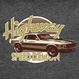 Highway speed demon - Women's Vintage Sport T-Shirt
