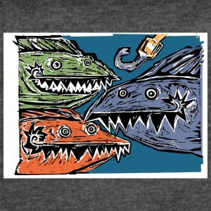 Here Fishies Fishies Fishies! - Women's Vintage Sport T-Shirt