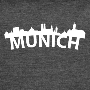 Arc Skyline Of Munich Germany - Women's Vintage Sport T-Shirt