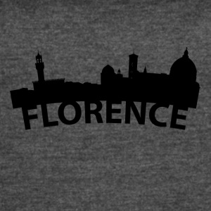 Arc Skyline Of Florence Italy - Women's Vintage Sport T-Shirt
