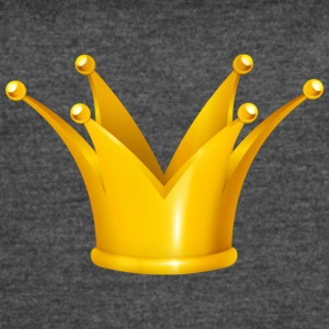 Royal King golden crown Monarch jewel - Women's Vintage Sport T-Shirt