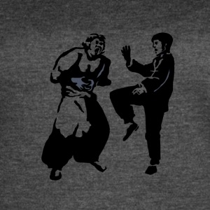Bruce lee FIGHTING - Women's Vintage Sport T-Shirt