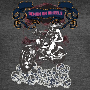 DEMON_ON_WHEELS - Women's Vintage Sport T-Shirt