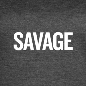 Savage White - Women's Vintage Sport T-Shirt