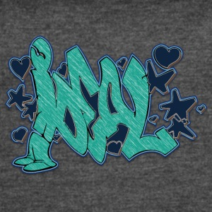 ideal_graffiti_blue - Women's Vintage Sport T-Shirt
