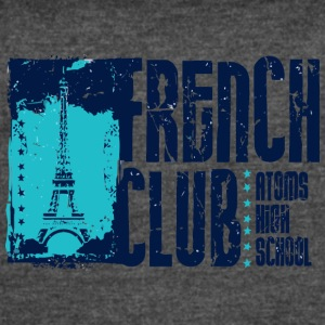 French Club Atoms High School - Women's Vintage Sport T-Shirt