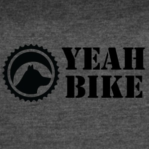 yeah_bike_black - Women's Vintage Sport T-Shirt