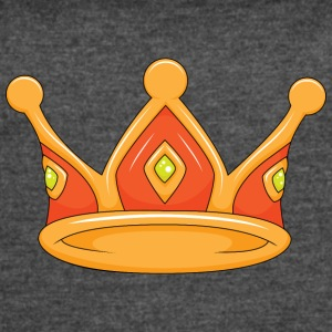 light red crown - Women's Vintage Sport T-Shirt