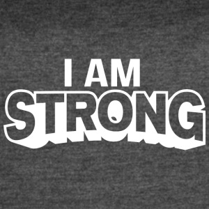 I AM Strong Affirmation T-Shirts & Clothing - Women's Vintage Sport T-Shirt