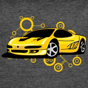 Yellow_Ferrari - Women's Vintage Sport T-Shirt