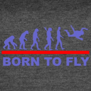 Born to fly2 - Women's Vintage Sport T-Shirt