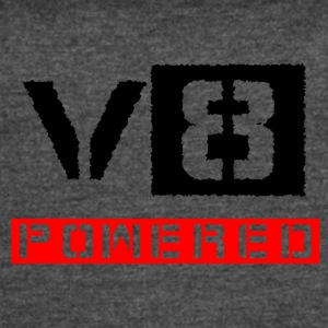 V8 powered red - Women's Vintage Sport T-Shirt