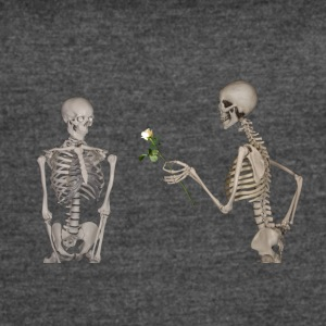 Skeletons in love - Women's Vintage Sport T-Shirt