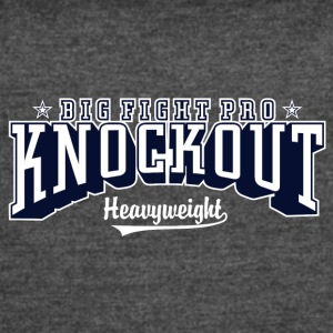 Big fight pro knockout - Women's Vintage Sport T-Shirt