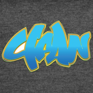 clean_graffiti_blue - Women's Vintage Sport T-Shirt