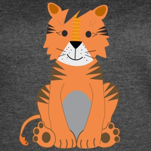 cute tiger - Women's Vintage Sport T-Shirt