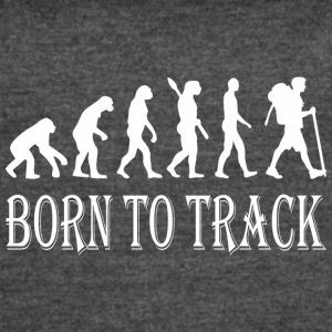 Born To Track Tracking - Women's Vintage Sport T-Shirt