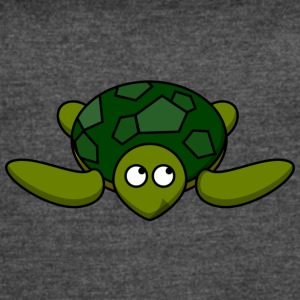 Funny Turtle Comic - Women's Vintage Sport T-Shirt