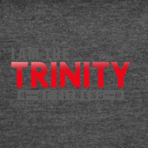 I AM THE TRINITY OF FITNESS - Women's Vintage Sport T-Shirt