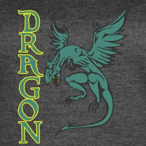 flying_dragon_colored - Women's Vintage Sport T-Shirt