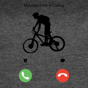 Mountainbike is Calling - Women's Vintage Sport T-Shirt
