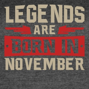 Legends Are Born in November - Women's Vintage Sport T-Shirt