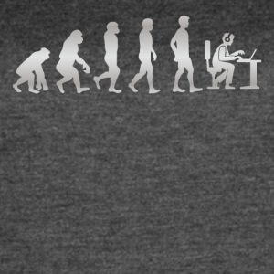 It s Just Evolution Computer - Women's Vintage Sport T-Shirt