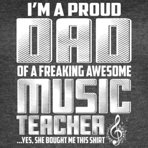 music-teacher Dad - Women's Vintage Sport T-Shirt