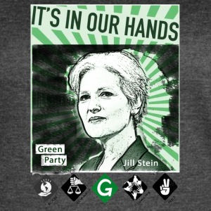 Its_In_Our_Hands-Jill_Stein-Green_Party - Women's Vintage Sport T-Shirt