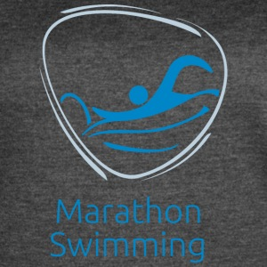 Marathon_swimming - Women's Vintage Sport T-Shirt