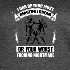 Beautiful dream or worst nightmare - Women's Vintage Sport T-Shirt