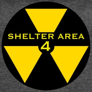 ShelterArea4 patch yellow - Women's Vintage Sport T-Shirt