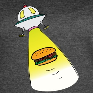 Out Of This World Burger - Women's Vintage Sport T-Shirt
