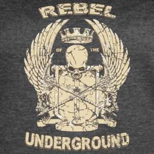 Rebel of the underground fantasy rap hiphop - Women's Vintage Sport T-Shirt