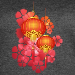 chinese_new_year_lights - Women's Vintage Sport T-Shirt