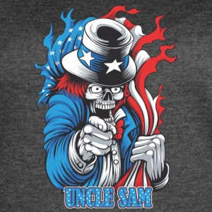 Uncle Sam - Women's Vintage Sport T-Shirt