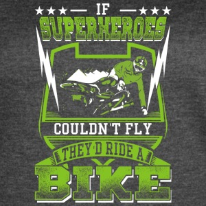 Superheoros Ride Mountainbikes - Women's Vintage Sport T-Shirt