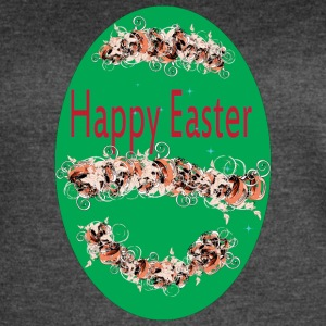 happy Easter green - Women's Vintage Sport T-Shirt
