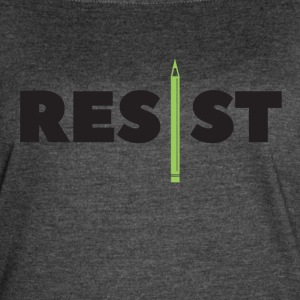 Resist Writer - Women's Vintage Sport T-Shirt